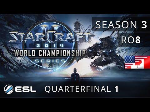 Heart vs. Scarlett (TvZ) -  Quarterfinal - WCS America 2014 Season 3 - StarCraft 2