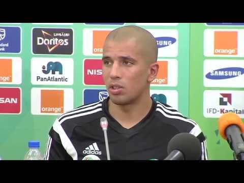 Algérie - Conférence de presse (27/01) - Orange Africa Cup of Nations, EQUATORIAL GUINEA 2015