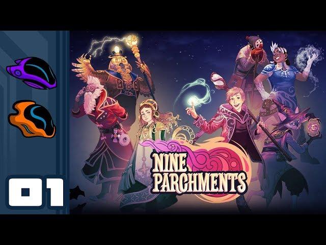 Руководство запуска: Nine Parchments по сети
