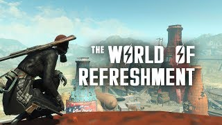 The World of Refreshment & The Nuka Cola Bottling Plant in Nuka World - Fallout 4 Lore