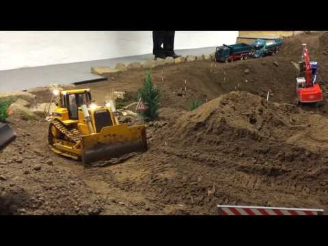Building a road with RC Machines Part 1