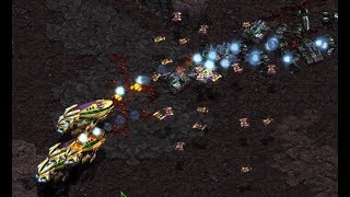 Flash (T) v Free (P) on Ground Zero 1.2 - StarCraft  - Brood War REMASTERED
