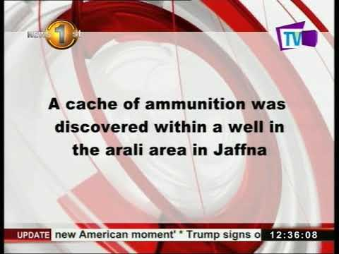 ammunition recovered|eng