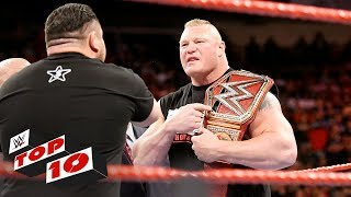 Top 10 Raw moments: WWE Top 10, July 10, 2017