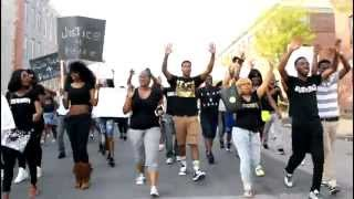 Demonstration For Freddie Gray-African Evolutionary Tribal Support As A Bio-Strategy #JusticeForFred
