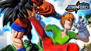 NEW SHAGGY JOINS JUMP FORCE! Shaggy Rogers Official Voice Gameplay Mod (Ultra Instinct Shaggy)