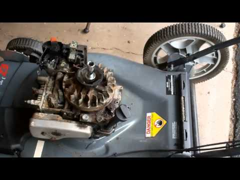 Removing Lawn Mower Engine Part 1