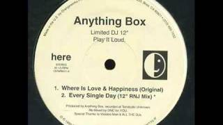 Watch Anything Box Where Is Love  Happiness video
