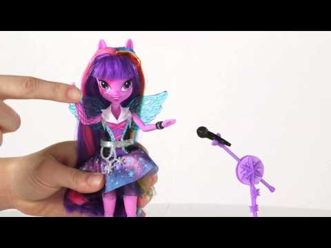 Hasbro - My Little Pony Equestria Girls - Dolls Rainbow Rock