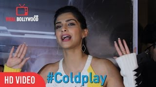 Sonam Kapoor s Reaction on Coldplay Hymn For The Weekend Official video ViralBollywood