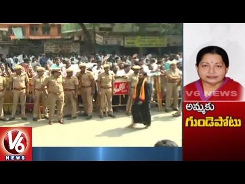 CM Jayalalithaa Health Still Critical | Live From Apollo Hospital, Chennai | V6 News