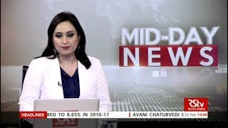 English News Bulletin – Feb 22, 2018 (1 pm)