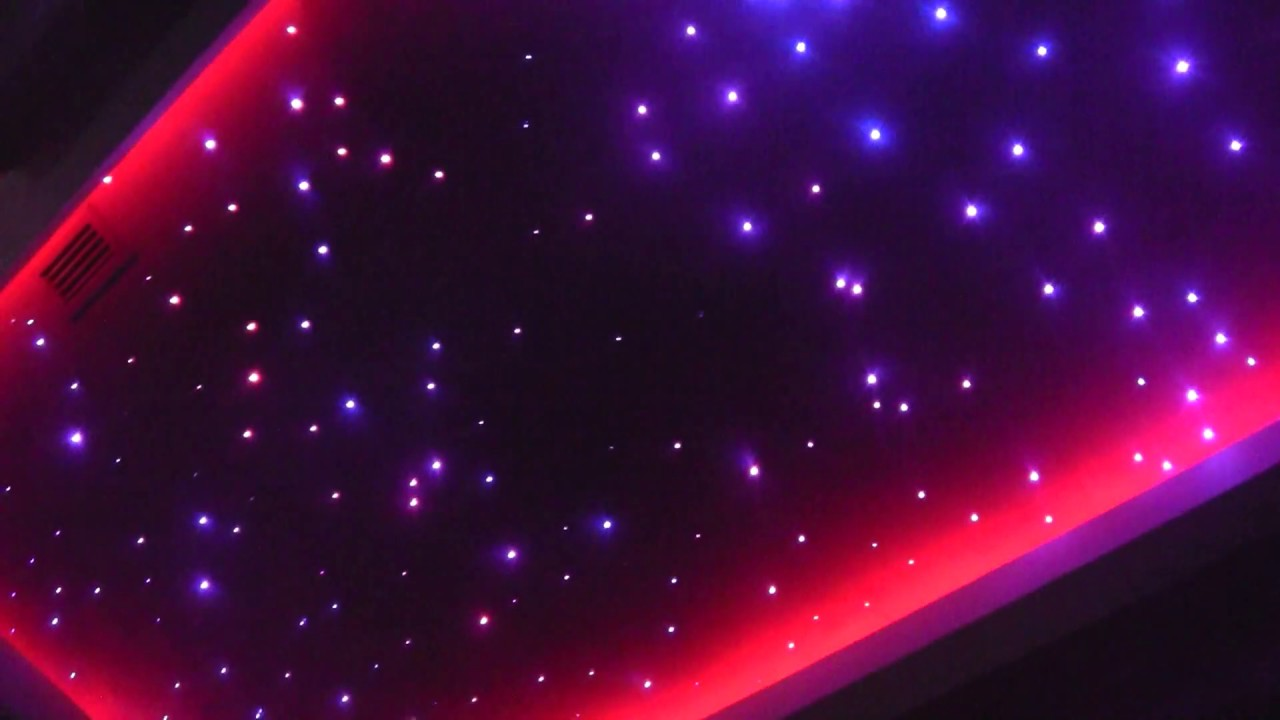 Starry Sky Led Lighting FIber Optic Lighting Led RGB