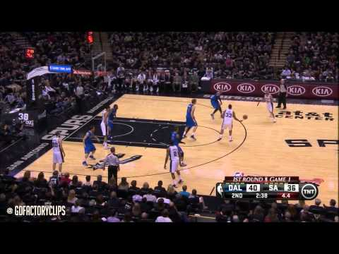 Tony Parker Full Highlights vs Mavericks 2014 Playoffs West R1G1 - 21 Pts, 6 Ast