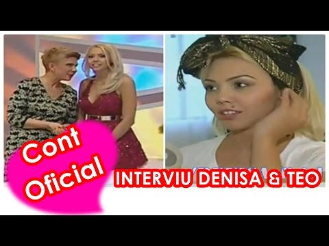 DENISA - INTERVIU INTREG (EMISIUNE TEO 13.10.2014)