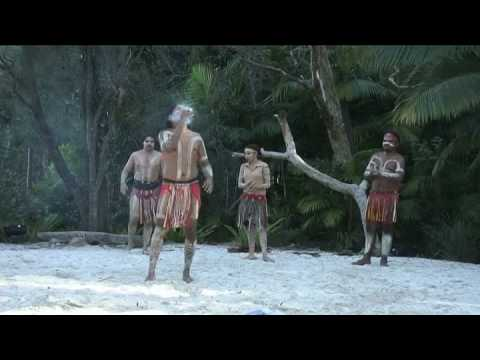 Australian Aboriginal Fire Dance