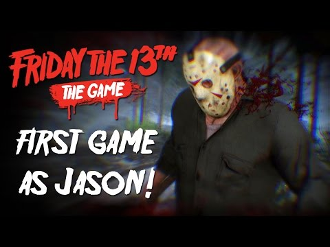 Friday the 13th: The Game - My First Game as Jason!!! (Beta)