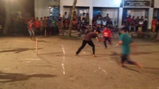 Eid celebrating Cricket at night 2016