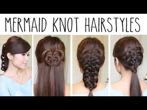 Easy Knotted Hairstyles - Könnyű csomozótt frizurák készítése