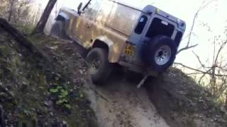 Landrover Defender Deep Water Hill Climb Off Road 4x4