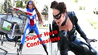 Funny Halloween Costumes Parody - Superhero Confessions