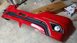 Innova Type 4 complete restoration | makeover & full body painting | Red Innova