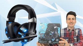 Best Budget Gaming Headset Under $30   RUNMUS K2 Gaming Headset Review