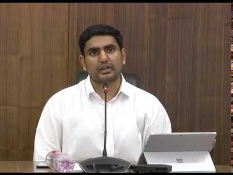 REVIEW AND VIDEO CONFERENCE BY AP MINISTER FOR PR & RWS AT SECRETARIAT ON 17052017