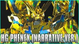 1/144 HGUC Unicorn Gundam 03 Phenex (Narrative Ver.) [Gold Coating] - MECHA GAIKOTSU REVIEW