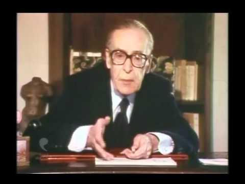 2 de 2  La montée du fascisme en France  Maréchal Pétain  Henri Guillemin (épisode 01 de 13)