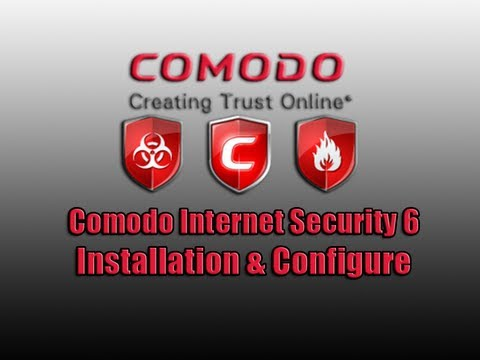 Comodo Internet Security 6 Installation & Configure by Britec