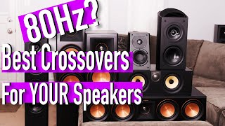 Best Speaker Crossover Settings   Home Theater 101
