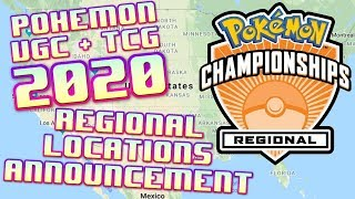 2020 Pokemon VGC/TCG Regional Locations Announcement! - Thoughts and Discussion