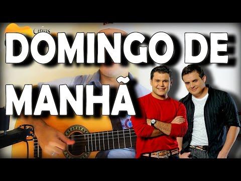 Aula de Violao Domingo de Manha Marcos e Belutti Como tocar fácil