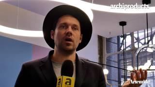 Fuorisalone 2017 | ARTEMIDE - Jakob Lange di Big studio ci racconta la lampada Alphabeth