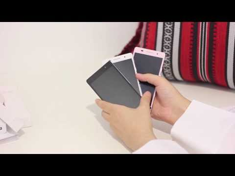 Black White and Pink Unboxing of Huawei Ascend P6