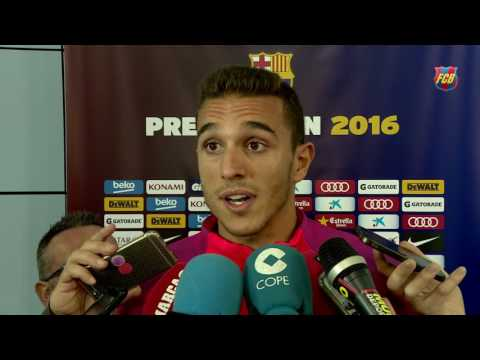 Samper y Masip luchan para ganarse un sitio en el FC Barcelona 2016/17