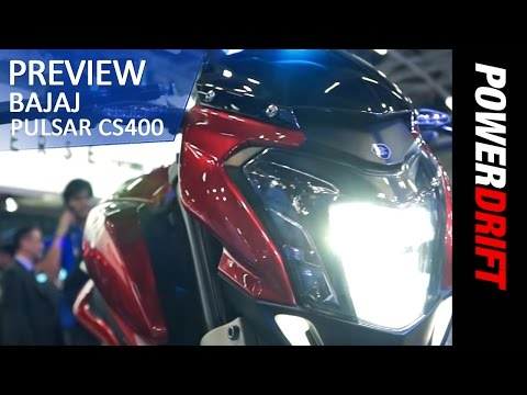 Bajaj Pulsar Cs400: First Look: Powerdrift video