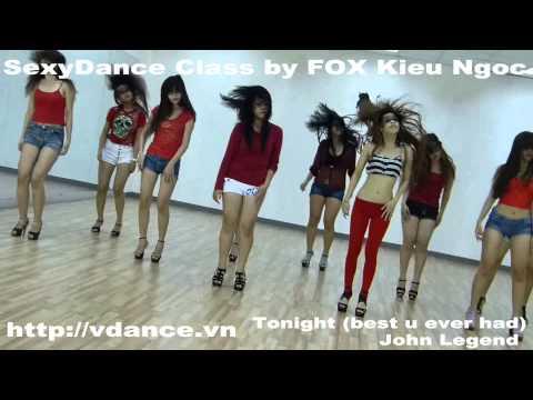 VDANCE Sexy Dance by FOX Kieu Ngoc-Tonight-John Legend