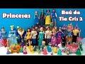 PRINCESAS DISNEY BAÚ da TIA CRIS 2 - Príncipes Carruagens Castelos e Princesas #BaúdatiaCris
