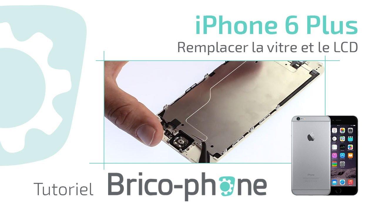 tuto iphone 6 plus changer la vitre et le lcd d montage remontage r paration hd youtube. Black Bedroom Furniture Sets. Home Design Ideas