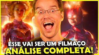 VEJA TODOS OS DETALHES DO TRAILER DA CAPITÃ MARVEL, ANÁLISE COMPLETA!