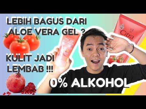 CITRA FRESH GLOW MULTIFUNCTION GEL REVIEW - TOMATO | 0% ALCOHOL | LEBIH BAGUS DARI ALOE VERA GEL