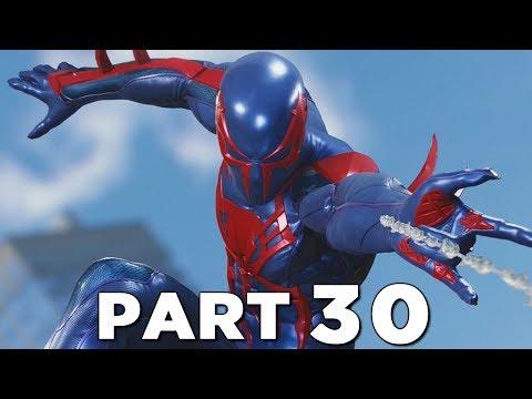 SPIDER-MAN PS4 Walkthrough Gameplay Part 30 - 2099 BLACK SUIT (Marvel's Spider-Man)
