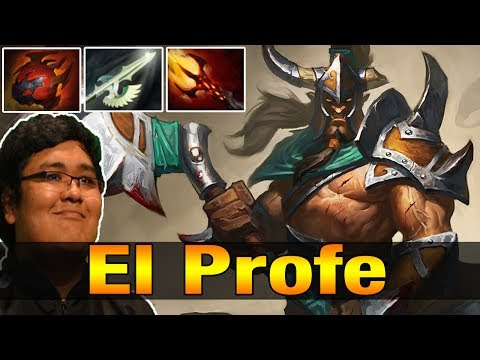 El Profe 8.9K MMR Plays Centaur Warrunner with Dagon - Dota 2