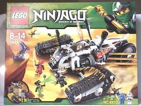 lego ninjago video review ultra sonic raider 1 2 fran ais youtube. Black Bedroom Furniture Sets. Home Design Ideas