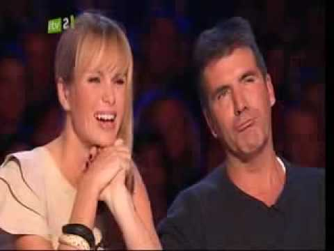 Eugene the Librarian standing ovation - Britains Got Talent 2009