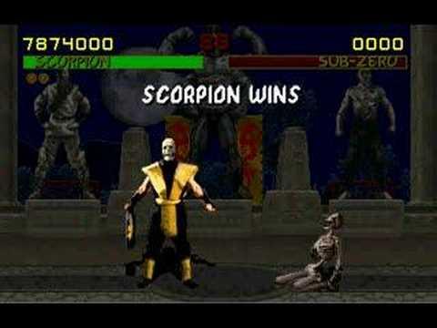 mortal kombat 2011 scorpion fatality. Mortal Kombat 9 (2011).