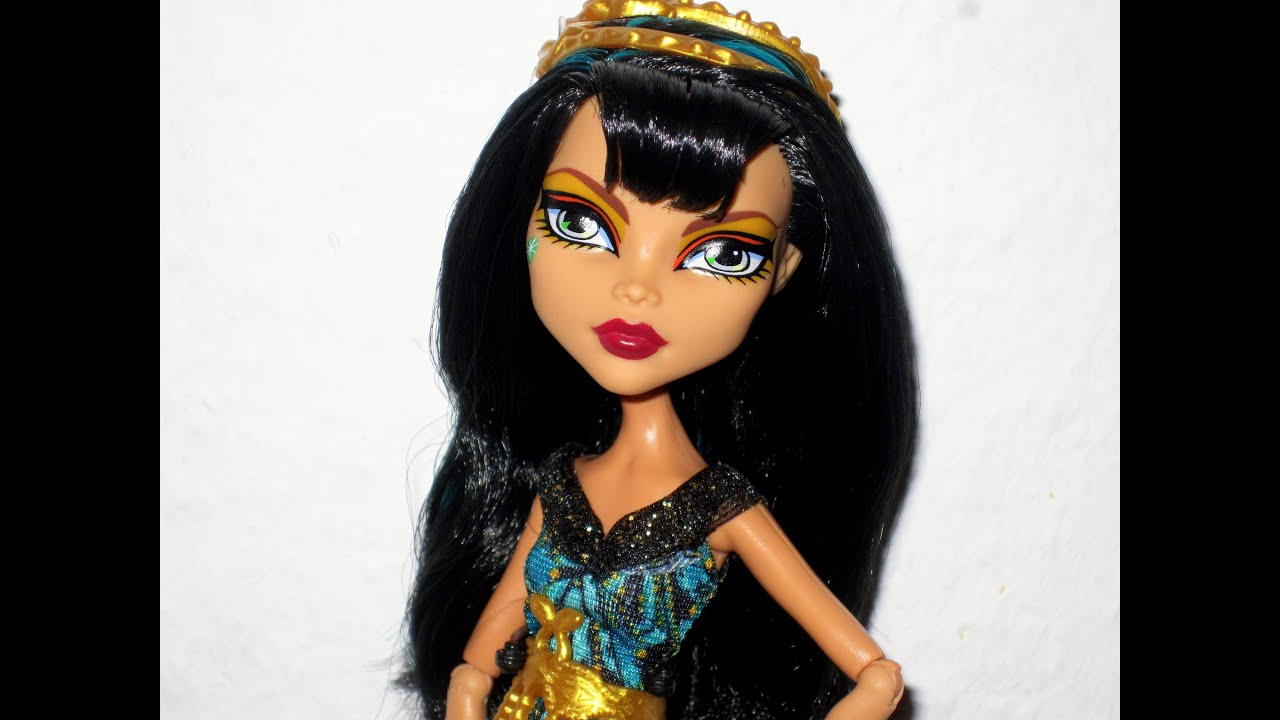 Monster High Cleo De Nile Frights Camera Action