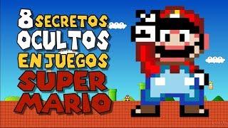 8 Secretos OCULTOS en juegos de SUPER MARIO BROS l #MisteriosDelGaming
